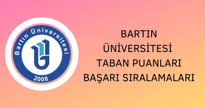 Bartın Üniversitesi Taban Puanları