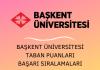 Başkent Üniversitesi Taban Puanları