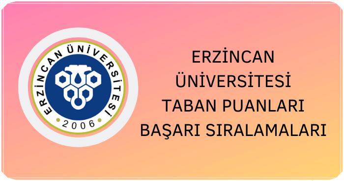 Erzincan Binali Yıldırım Üniversitesi Taban Puanları