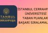 İstanbul Üniversitesi Cerrahpaşa Taban Puanları