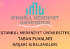 İstanbul Medeniyet Üniversitesi Taban Puanları