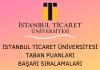 İstanbul Ticaret Üniversitesi 2020 Taban Puanları