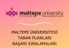 Maltepe Üniversitesi 2020 Taban Puanları
