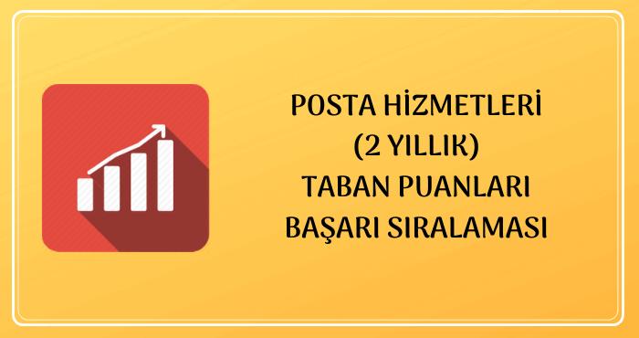 Posta Hizmetleri Taban Puanları
