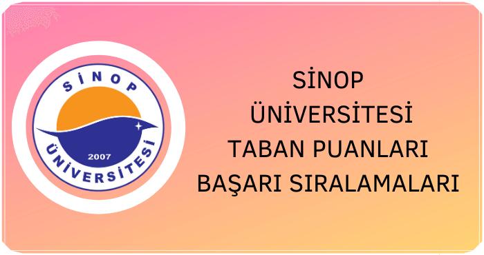 Sinop Üniversitesi Taban Puanları