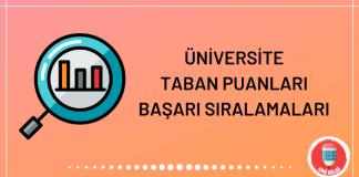 Üniversite Taban Puanları