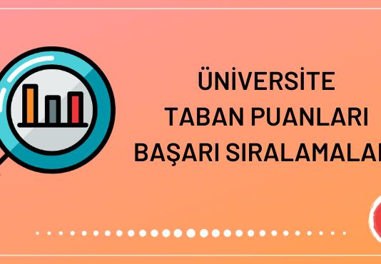 Üniversite Taban Puanları 2020
