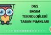 DGS Basım Teknolojileri Taban Puanları