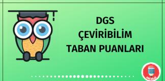 DGS Çeviribilim Taban Puanları