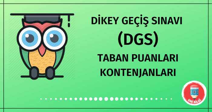 DGS Taban Puanları 2020