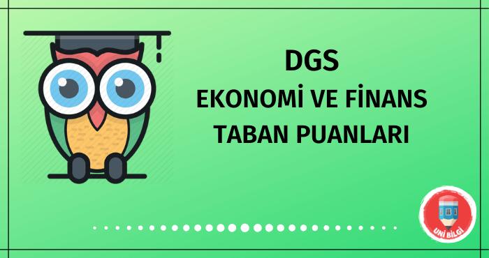 DGS Ekonomi ve Finans Taban Puanları