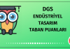 DGS Endüstriyel Tasarım Taban Puanları 2020