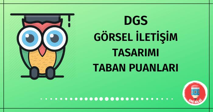 DGS Görsel İletişim Tasarımı Taban Puanları