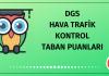 DGS Hava Trafik Kontrol Taban Puanları 2020