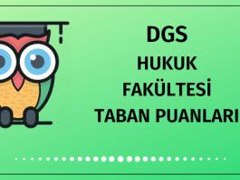 DGS Hukuk Taban Puanları