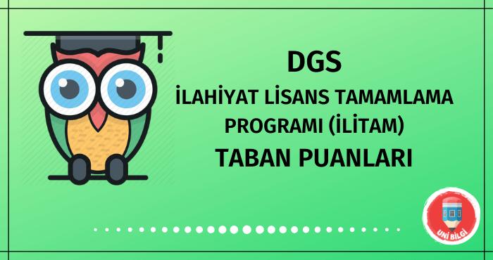 DGS İlahiyat Tamamlama Programı Taban Puanları