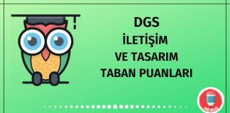 DGS İletişim ve Tasarım Taban Puanları
