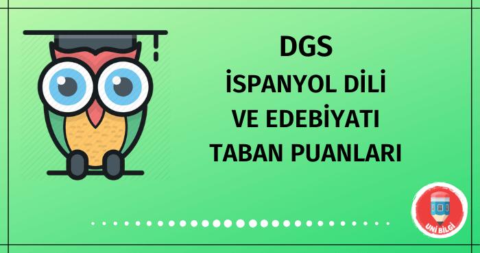 DGS İspanyol Dili ve Edebiyatı Taban Puanları 2020