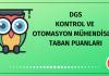 DGS Kontrol ve Otomasyon Mühendisliği Taban Puanları