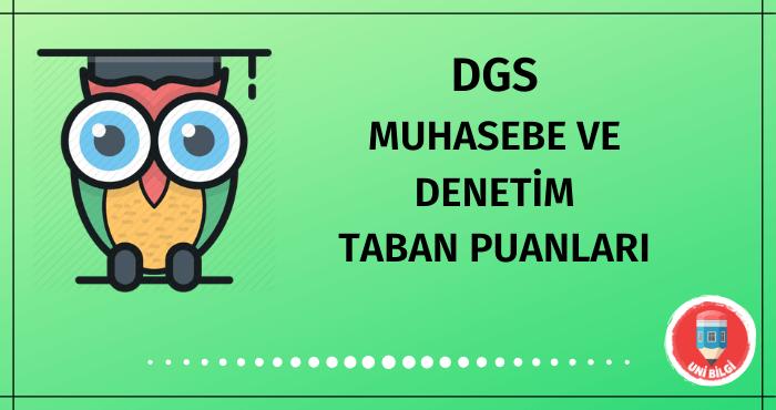 DGS Muhasebe ve Denetim Taban Puanları