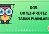 DGS Ortez-Protez Taban Puanları