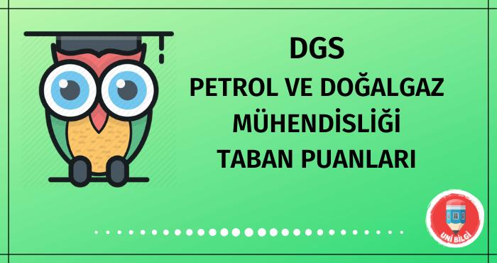 DGS Petrol ve Doğalgaz Mühendisliği Taban Puanları