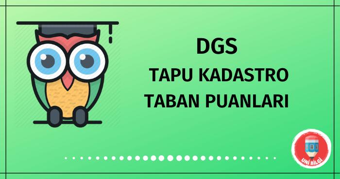 DGS Tapu Kadastro Taban Puanları