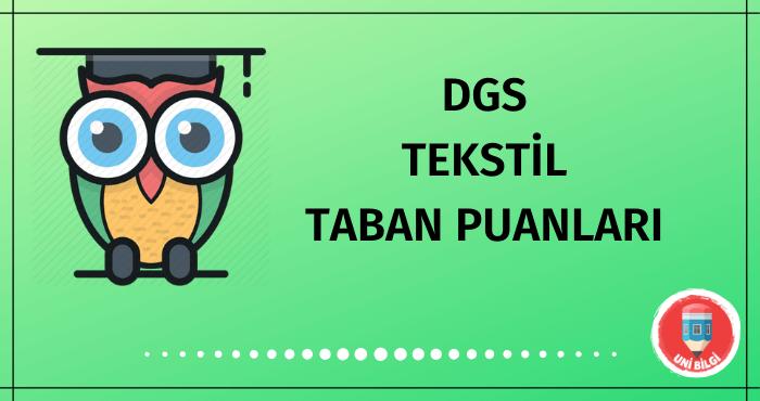 DGS Tekstil Taban Puanları