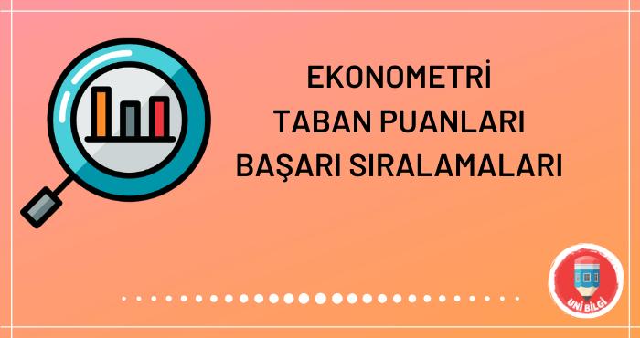 Ekonometri Taban Puanları