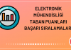 Elektronik Mühendisliği Taban Puanları 2020