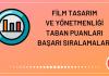 Film Tasarım ve Yönetmenliği Taban Puanları