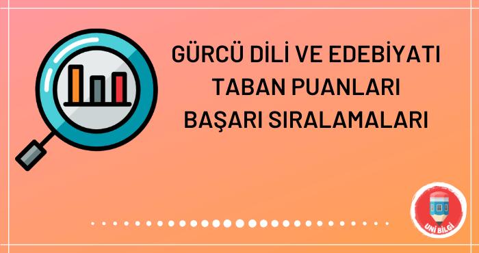 Gürcü Dili ve Edebiyatı Taban Puanları 2020