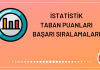 İstatistik Taban Puanları