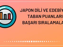 Japon Dili ve Edebiyatı Taban Puanları 2020