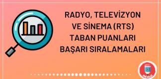 Radyo, Televizyon ve Sinema Taban Puanları 2020