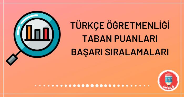 Türkçe Öğretmenliği Taban Puanları 2020